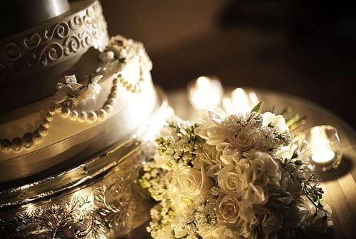 Beautiful Paso Robles wedding cake