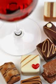 Choc and wine